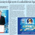 Fehérvár újság - legjobb ásványvíz