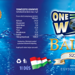 One World Balaton dús - 1l